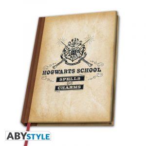 Cahier A5 Hogwarts School