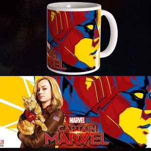 Mug Captain Marvel 300ml