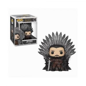 POP Jon Snow on Iron Throne