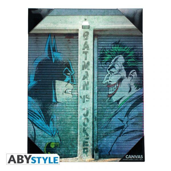 Toile Batman Vs Joker