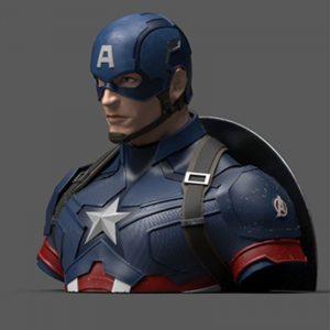 Tirelire Captain America