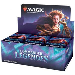 Commander légendes