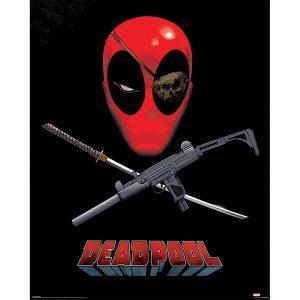affiche encadré Deadpool